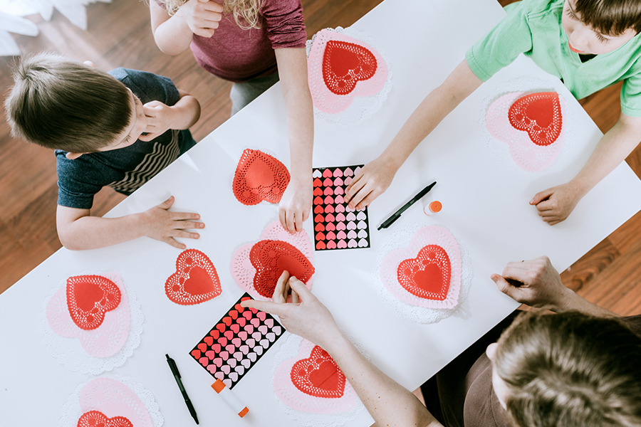 Valentine's Day Craft Party & #KindnessCounts Expo