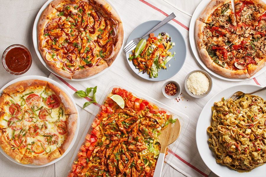 New Catering Menu at California Pizza Kitchen