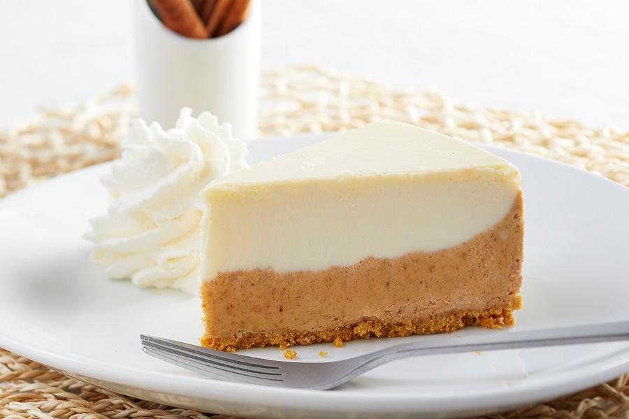 Pumpkin Cheesecake at California Pizza Kitchen