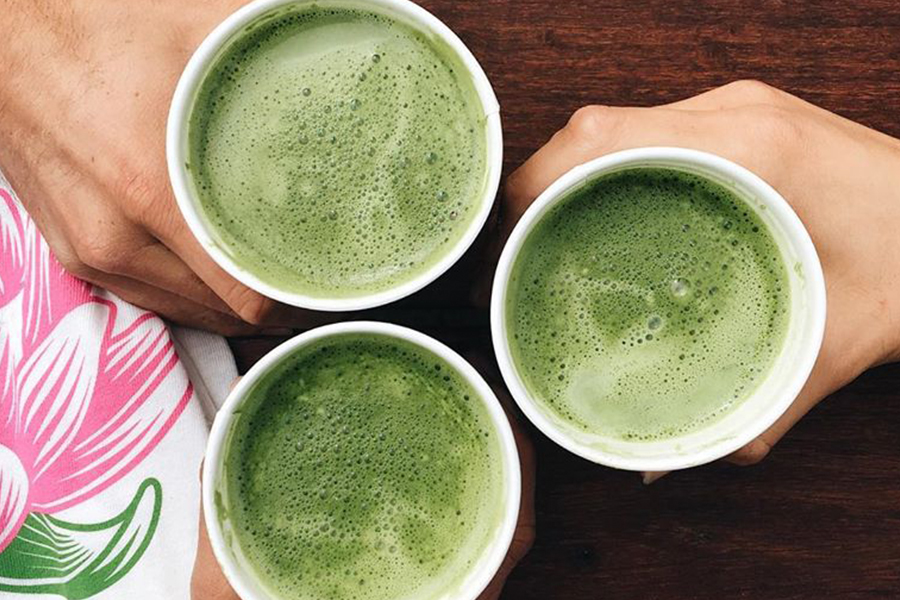 New Matcha Latte at SunLife Organics