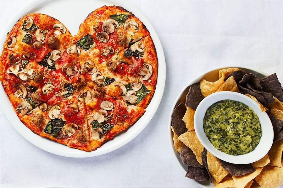 Valentine Special at California Pizza Kitchen