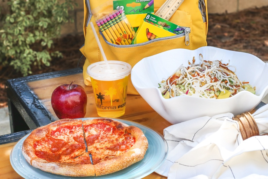 School Lunch Packages at California Pizza Kitchen