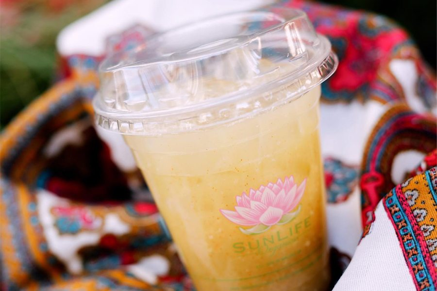 Drink Launch at SunLife Organics