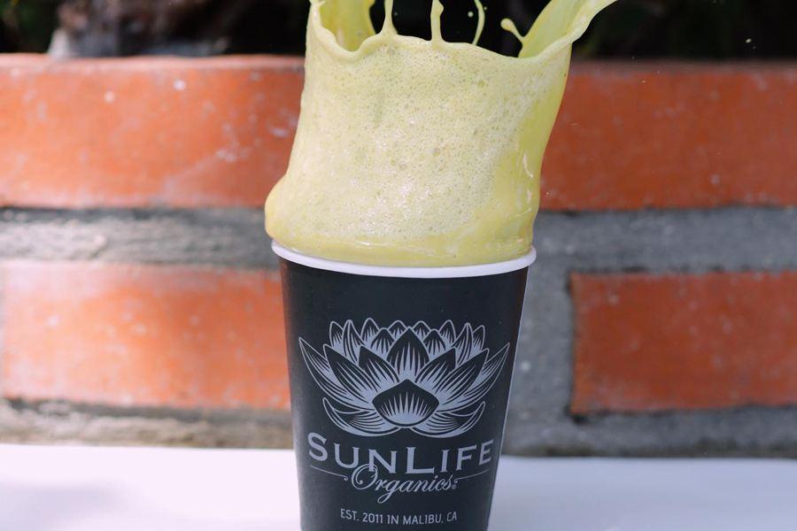 Drink Launch at SunLife Organics