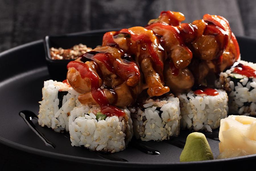Sushi at P.F. Chang's